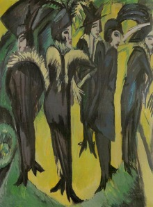 "Kirchner ""Five Women in the Street"