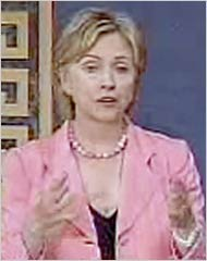 Clinton's Supposed Cleavage