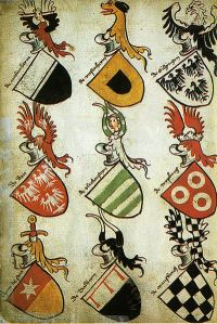 german-hyghalmen-roll-w-coat-of-arms-c-1485
