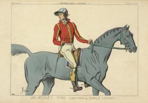 """Un Jockey Angleterre"" (1796)"