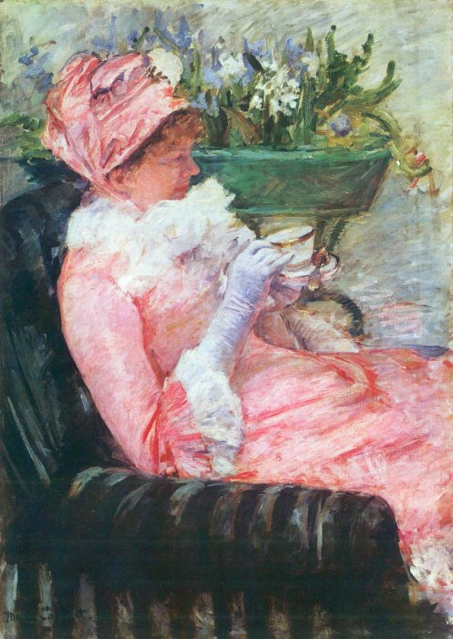 """The Cup of Tea"" by Mary Cassatt, 1879"
