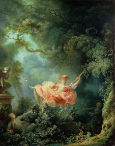 """Fragonard's """"The Swing,"""" 1766"""