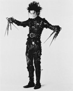 Johnny Depp as Edward Scissorhands (1990)