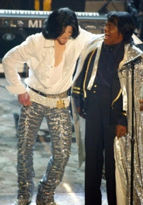 michael jackson and james brown at BET awards 2003