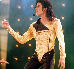 Michael Jackson gold lame bodysuite HIStory tour 1997