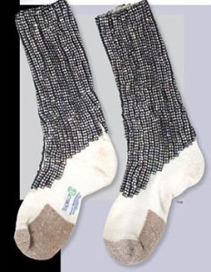Michael Jackson sequined socks