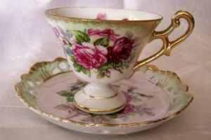 Victorian tea cup