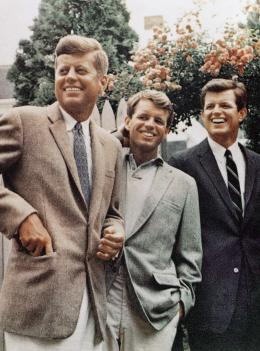 John, Robert and Edward Kennedy, 1960