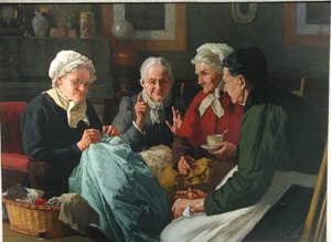 "Louis Henry Charles Moeller ""the Sewing Circle"""