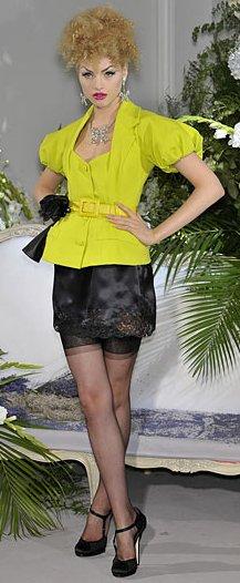 Dior F12 - opaque slip skirt