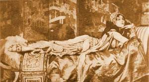 Ida Rubinstein in Ballet Russe Scheherazade, 1910